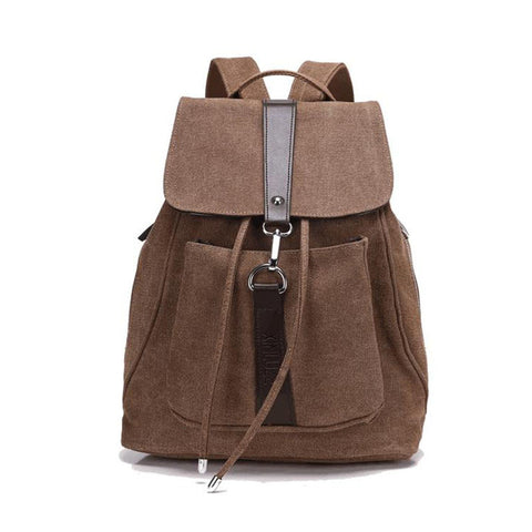 Women Vintage leather backpack