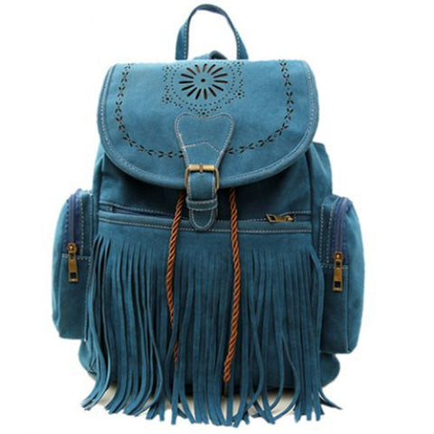 Women Retro Backpack
