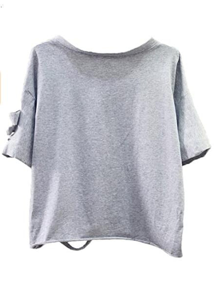 Fashion Print Short Sleeve Tops T-Shirt