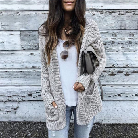 Fashion Cardigan Jacket Outwear Top