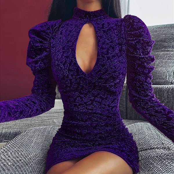 Long Sleeve Women's Sexy Dress