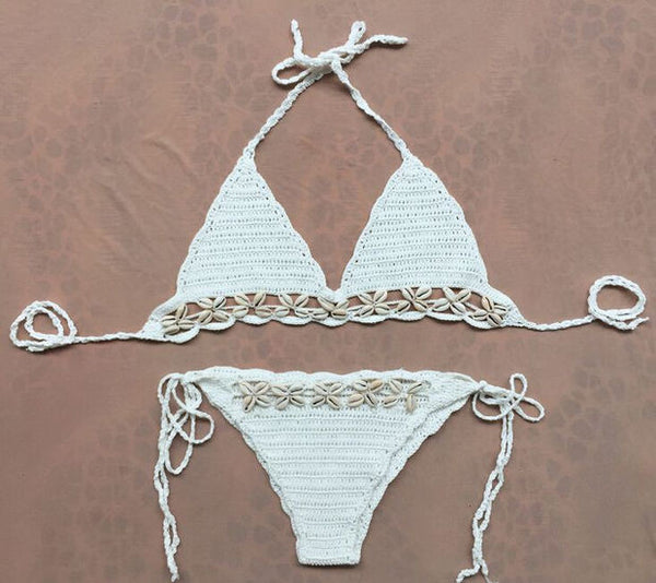 Sexy Shells Beach Bikini Set Swimsuit Swimwear