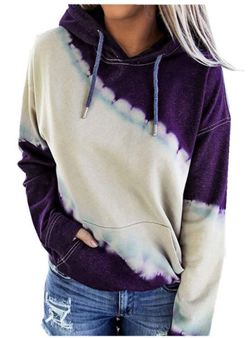 Womens Loose Hooded Sweater
