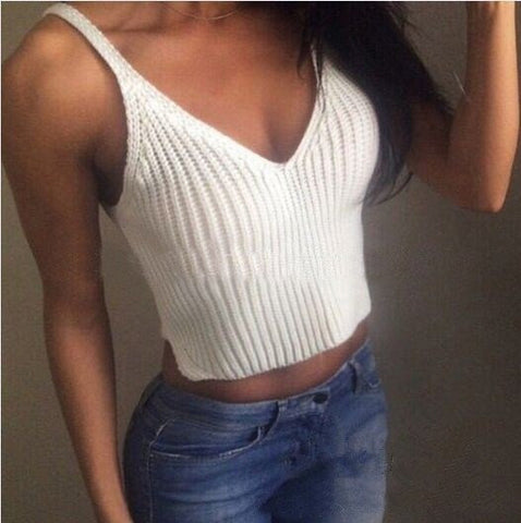 LOOSE KNIT CAMISOLE SHIRT