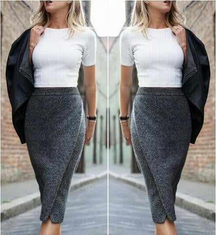 SEXY PACKAGE HIP SKIRT