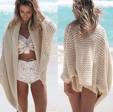 Knitted beach Bikini cardigan