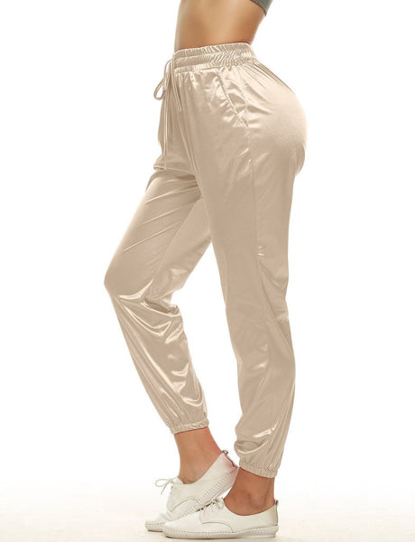 FASHION HIGH WAIST LONG PANTS
