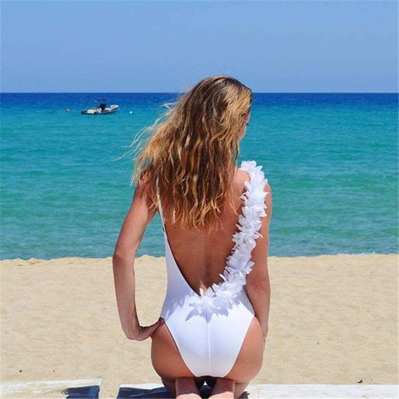 Design Backless Swimsuit