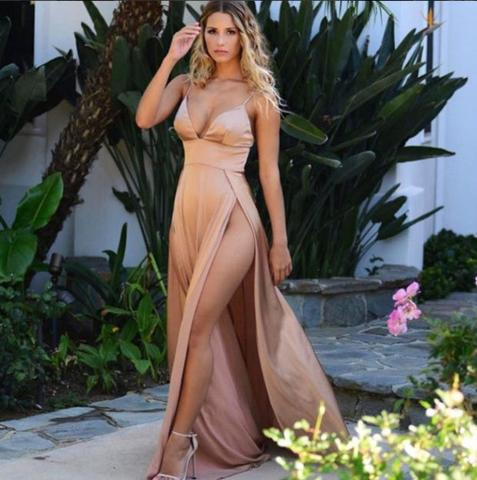 SEXY HOT SALE SLIM PROM DRESS ONE PIECE DRESS