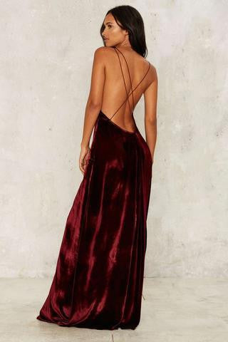 Sexy Harness Backless Dress