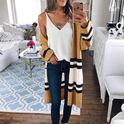 FASHION STYLISH KNIT TOPS JACKET