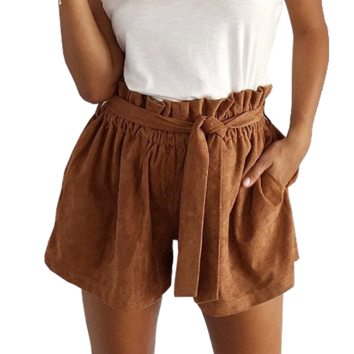 FASHION HIGH WAIST SHORTS