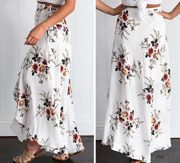 Boho Women Sexy Printed Skirts