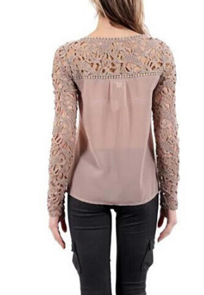 EMBROIDERED LONG-SLEEVED T-SHIRTS