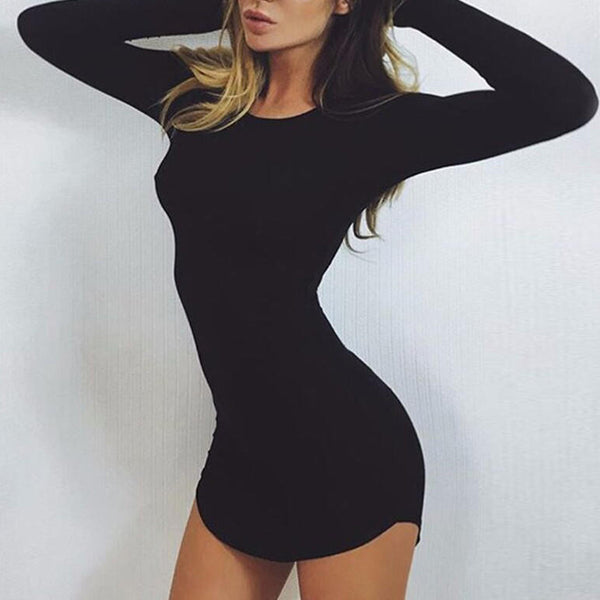 Sexy Bodycon Mini Dress