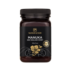 Watson & Son Manuka Honey 400+ Premium 'Black Label' 500g