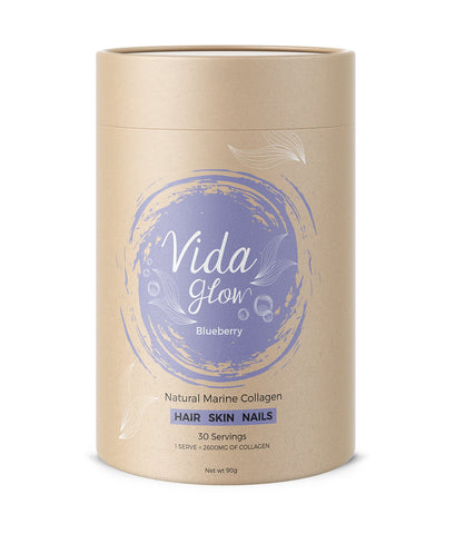 Vida Glow Blueberry Marine Collagen