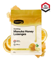 Comvita Manuka Honey Lozenges with Propolis - Lemon Flavour 500g