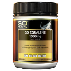 Go Healthy Squalene 1000mg 200 Softgel Capsules
