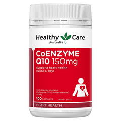 Healthy Care-Co-Enzyme Q10 150mg 100 Capsules