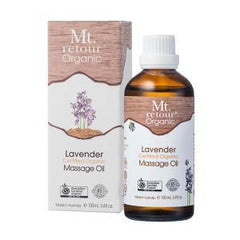 Lavender Massage Oil Certified Organic 100 ml