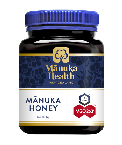 Manuka Health MGO 263+ 1Kg Manuka Honey New Zealand