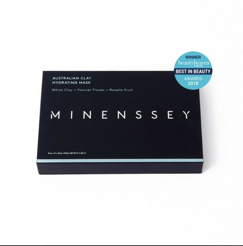 Minenssey Australian Clay Hydrating Mask 9 pieces