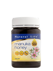 Natural Life Manuka Honey MGO 550+ 500g