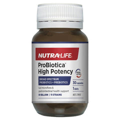 Nutralife Probiotica High Potency 30 Capsules