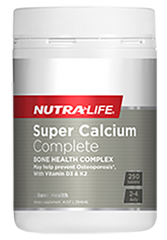 Nutralife Super Calcium Complete 250 Tablets