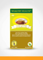 WEALTHY HEALTH Organic Lyophilised ROYAL JELLY 365 Capsules