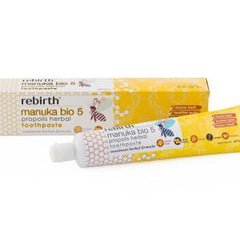 Rebirth Manuka Bio 5 Propolis Herbal Toothpaste 100g