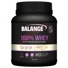 Balance 100% Whey WPC / WPI Protein with Digestive Enzymes Vanilla 750g