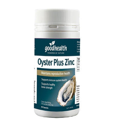 GOOD HEALTH OYSTER PLUS ZINC 60 Capsules