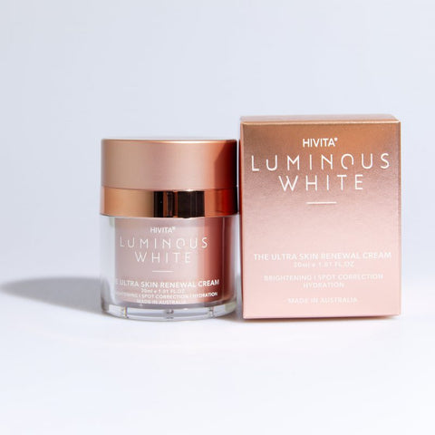 Hivita Luminous White The Ultra Skin Renewal Cream 30mL