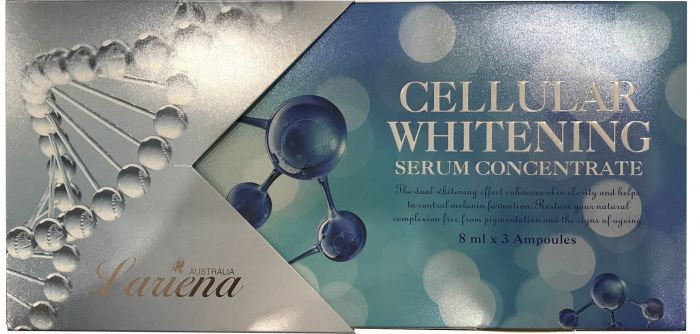 Lariena Cellular Whitening Concentrate - 8ml x 3 Ampoules