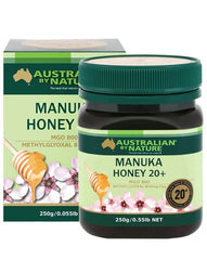 Australian By Nature  20+ 250g Manuka Honey - 100% New Zealand (MGO 800)