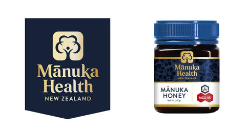 Manuka Health MGO 115+ 250g Manuka Honey New Zealand