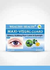 Wealthy Health Maxi-Visual Guard Bilberry 10000 Plus / 60 Capsules