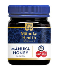 Manuka Health MGO 400+ 250 g Manuka Honey New Zealand