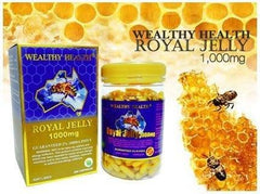 Royal Jelly - WEALTHY HEALTH ROYAL JELLY 1000MG GUARANTEED 6% 10 HDA – 365 CAPSULES