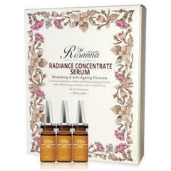 Skin Protection - Rosanna Radiance Concentrate Serum - Whitening & Anti-Ageing Formula - 8ml X 3 Ampoules