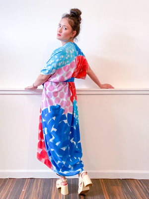 Limited Edition Hand-Dyed High Low Kimono Primary