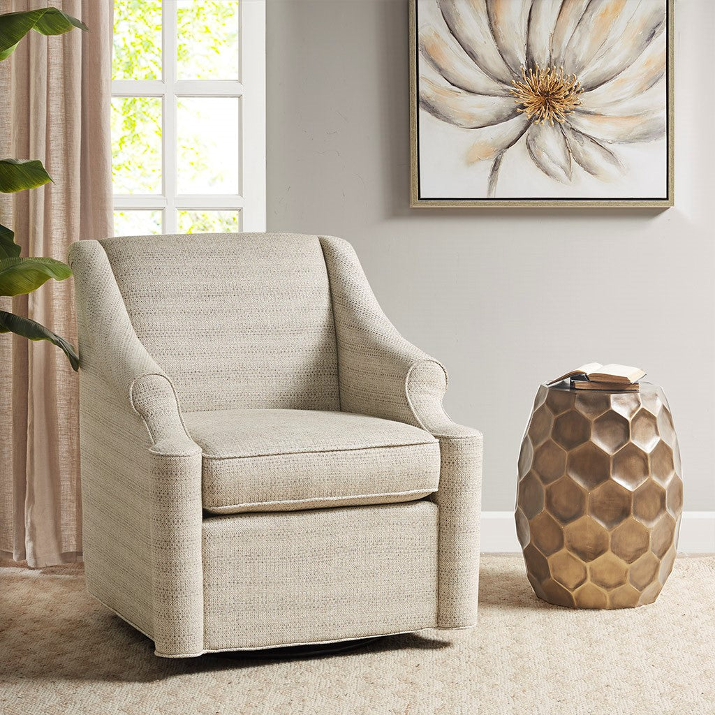 Madison Park Justin Swivel Glider Chair Mp103 0937 Simply The Best Decor
