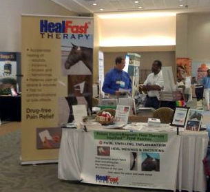 HealFast Therapy at AVCA show