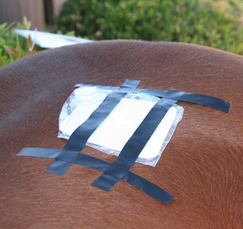 Square Patch's Large Antenna Stops Pain and Swelling From Arthritis, Sprains, Wounds and Tendonitis