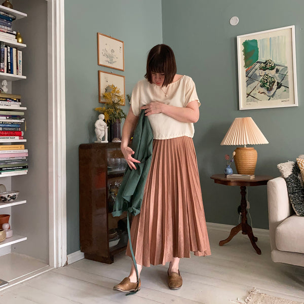 physa shirt with skirt matching colors