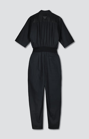 TAUKO x Hanna G jumpsuit coal black - Dresses - TAUKO - TAUKODESIGN