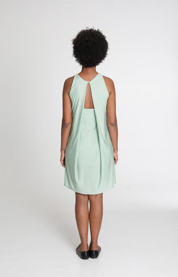 Holiday Dress Gossamer Green - Dresses - TAUKO - TAUKODESIGN