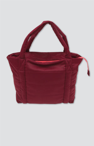 Hug Bag cabernet red